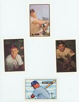1953 Bowman Hall of Fame Reprint set 8 Cards Mickey Mantle & Bonus MANTLE ROOKIE