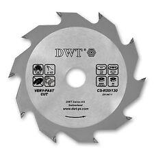 DWT Kreissägeblatt Sägeblatt Ø 130 x 20/16 mm 10 Z für Kreissägen - CS-R20/130