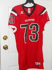 NWOT RUSSELL WESTERN KENTUCKY HILLTOPPERS GAME ISSUED FOOTBALL JERSEY SIZE LARGE
