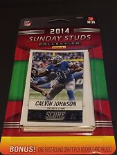 SUNDAY STUDS Collection  2014 Score FACTORY 10 Card SET + 1 BONUS 1st Round RC!!