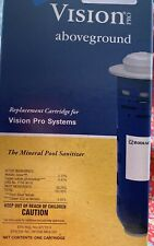 NIB zodiac Nature 2 Vision Pro Above ground Replacement Cartridge Mineral Pool