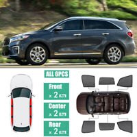 Windows Sunshade UV Ray Protector Mesh Block Privacy Visor For Kia Sorento 15-18