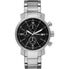 Herrenuhr Fossil Armbanduhr Rhett Chronograph Edelstahl BQ1000, UVP: 158,55