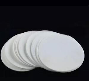 100pc 12.5cm Qualitative filter paper 102 Medium-speed filter paper Oil filter