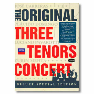 The Original Three Tenors Concert DVD 2Disc Deluxe Special Edition Region 0 NTSC