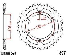 TMP Pignon Sortie Boite Arrière 50 Dents (Chaîne520) KTM LC4 620 Super Moto 1998