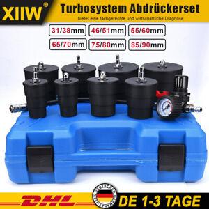 9-TLG Ladeluftkühler Turbolader Adapter Abdrücken Abdrück Werkzeug Tester Prüfer