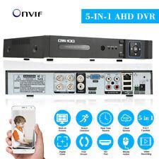 OWSOO Security CCTV 4CH AHD DVR NVR CVI TVI Analog 5-IN-1 Video Recorder E8K0