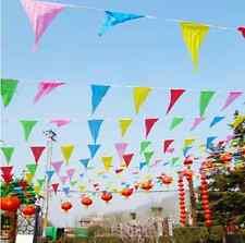 10M Party Flag/Huge Birthday Parties/Market Stalls Xmas Rainbow Bunting New Flag