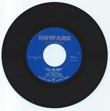 DOO WOP 45 THE DWELLERS TELL ME WHY ON HOWARD  STRONG VG REPRO