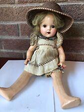"""New ListingAntique Arranbee (R&B) Doll 14.5� Nancy Doll Original Clothes """"X� Head Imprint"""