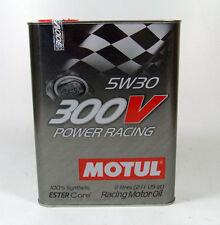 Motul 300V Power Racing 5W-30 / 2 Liter Vollsynthetisches Hochleistungsmotorenöl