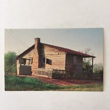 A Southern Home Rough Cabin Unposted Postcard