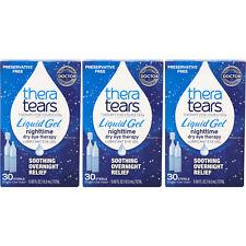 3 Упаковка-TheraTears жидкий гель одноразовые контейнеры 30 каждая