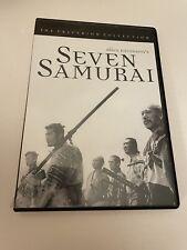 New listing Seven Samurai (Dvd, 1998, Criterion Collection)