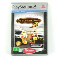 V8 Supercars Australia 3 PS2 Playstation 2 Platinum Game Complete PAL