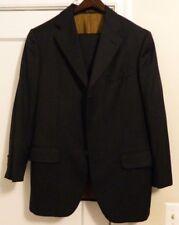 Etro Milano 3 Button Wool/Cashmere Suit Men's Sz EUR 52 US 42R Pants 34x32!