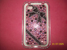 NEW FASHION  BACK COVER FOR IPHONE 4/4s  DESIGN WITH DIFFERENT COLOR RHINESTONES