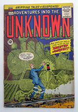 Adventures Into The Unknown #132 1962 Silver Age Comic Classic Leprechaun story
