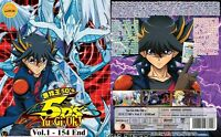 ANIME DVD Yu-Gi-Oh! 5D'S(1-154End)English sub&All region + With GIFT