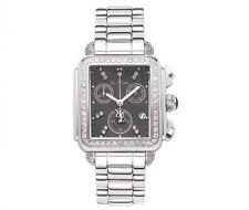 Joe Rodeo Women's JRMD28 Madison 2.0ct Diamond Steel Chronograph Quartz Watch