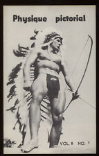 Gay art Tom of Finland 1958 drawing Spartacus Etienne Bob Mizer's Physique