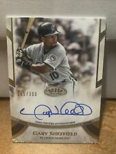 New listing GARY SHEFFIELD 2021 Topps Tier One Autograph Marlins #5/300 Auto