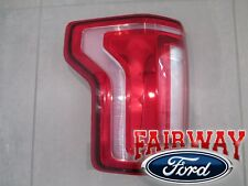15 thru 17 F-150 OEM Genuine Ford Tail Lamp Light Driver LH with LED (No Radar)