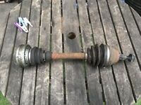 Vw Passat B6 2007 2.0 Tdi 140 6 Speed Passenger Driveshaft