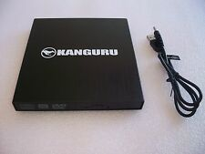 Kangaru  U2-DVDRW-SL,   QS Slim DVDRW DVD Burner,  EXTERNAL Optical Drive, USB