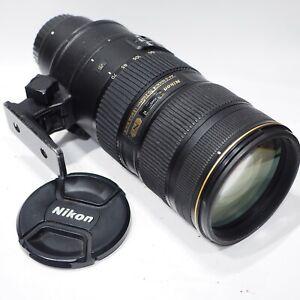 Nikon Nikkor AF-S 70-200mm 1:2.8G II VR zoom lens, fits DSLR camera