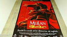MULAN ! affiche cinema  animation bd  disney