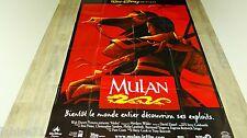 MULAN ! affiche cinema  animation bd  disney