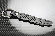 FIAT Panda 100HP Leather Keyring Keychain Schlüsselring Porte-clés Sporting