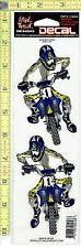 Motocross Dirt Bike Window Decal Sticker for Car/Truck/Motorcycle/Laptop 458
