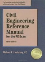 PE Exam Civil Engineering Reference Manual by Michael Lindeburg