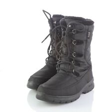 Kamik Brooklyn Black Waterproof Insulated Snow Winter Boots Lace Up Womens 7