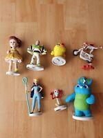 Disney Pixar Toy Story 4 Figure Set Bundle Toys Woody Jessie Forky Gabby Bo Peep