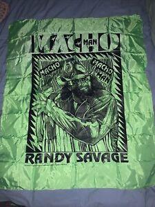 Vintage Macho man randy savage flag