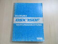 Suzuki GSX 750 F Handbuch Wartungsanleitung Fahrerhandbuch 99500-37060-01G