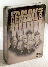 Famous Generals of World War II (2 Disc DVD, 2007) Biography - Educational