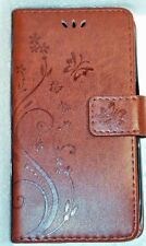 Samsung Galaxy S5 leather cell phone case with wristlet  - BUTTERFLIES!