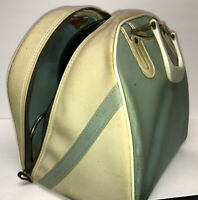 Vintage Hammer Black Bowling Ball in AMF Light Blue Bowling Bag - 14 lbs