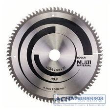 BOSCH Aluminium Lame de scie 254mm 80 TR-f pour scie circulaire à table GTS 10 J