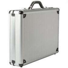 Alpine Swiss Aluminum Attaché Case Padded Laptop Briefcase Combo Lock Hard Sided