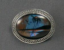 Vintage Sterling Butterfly Brooch Pin