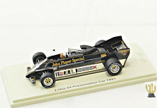 1:43 Spark UK002 Lotus 88, Presentation 1981, With Colin Chapman, Limited EDT