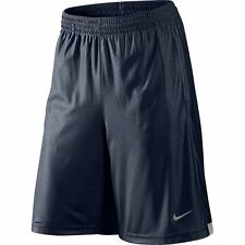 NWT $30 Nike Mens XXL Basketball ZONE Athletic Shorts NAVY BLUE Mesh 2XL #320916