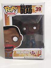 ✨ Funko POP! 2012 The Walking Dead Figure MICHONNE PET WALKER 2 #39 EUC ✨