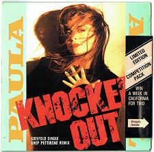 "PAULA ABDUL - 7"" - Knocked Out (Gate Fold) Shep Pettibone Remix. Competition.UK"